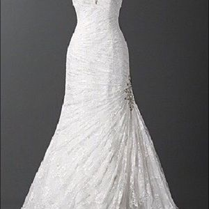 Alfred Angelo wedding gown.